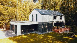 domy w stylu skandynawskim